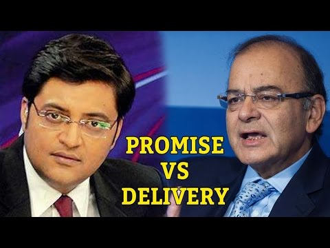 Promise Vs Delivery | Budget Debate With Arnab Goswami
