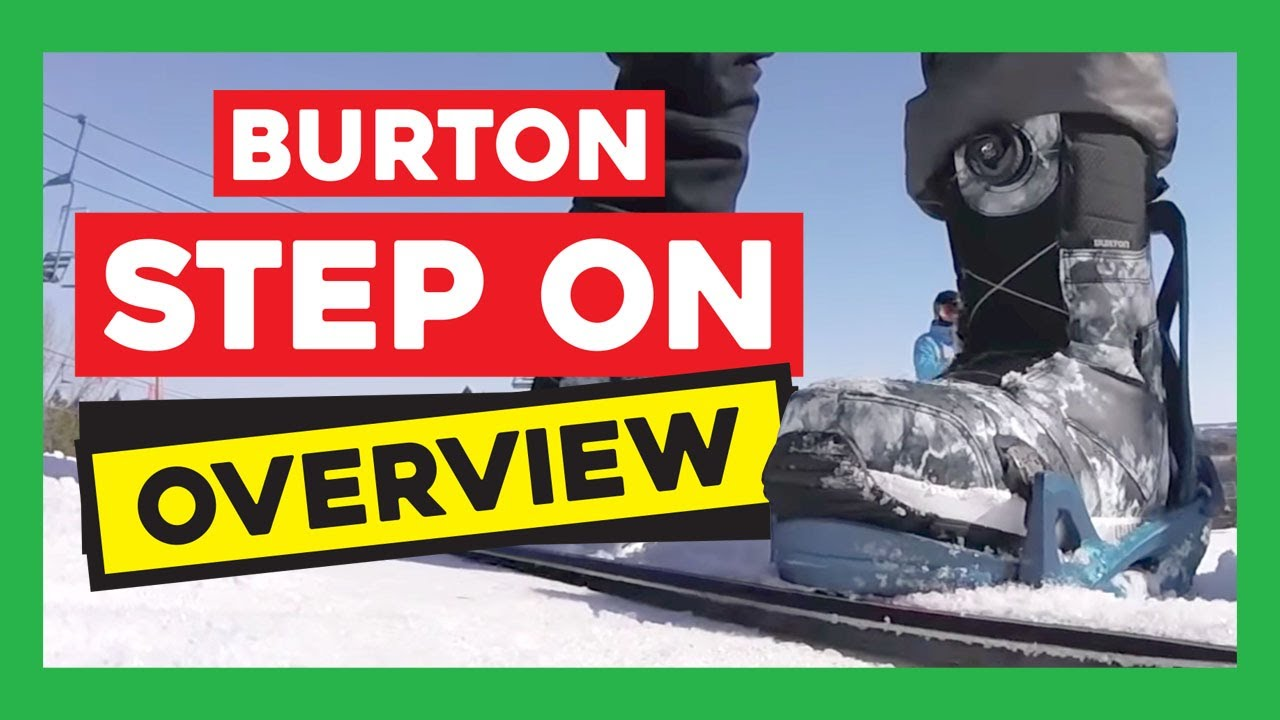 7d737820d5a Burton Step On Snowboard Bindings and Boots Overview  Review - YouTube