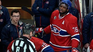 NHL: Players Yelling at the Ref