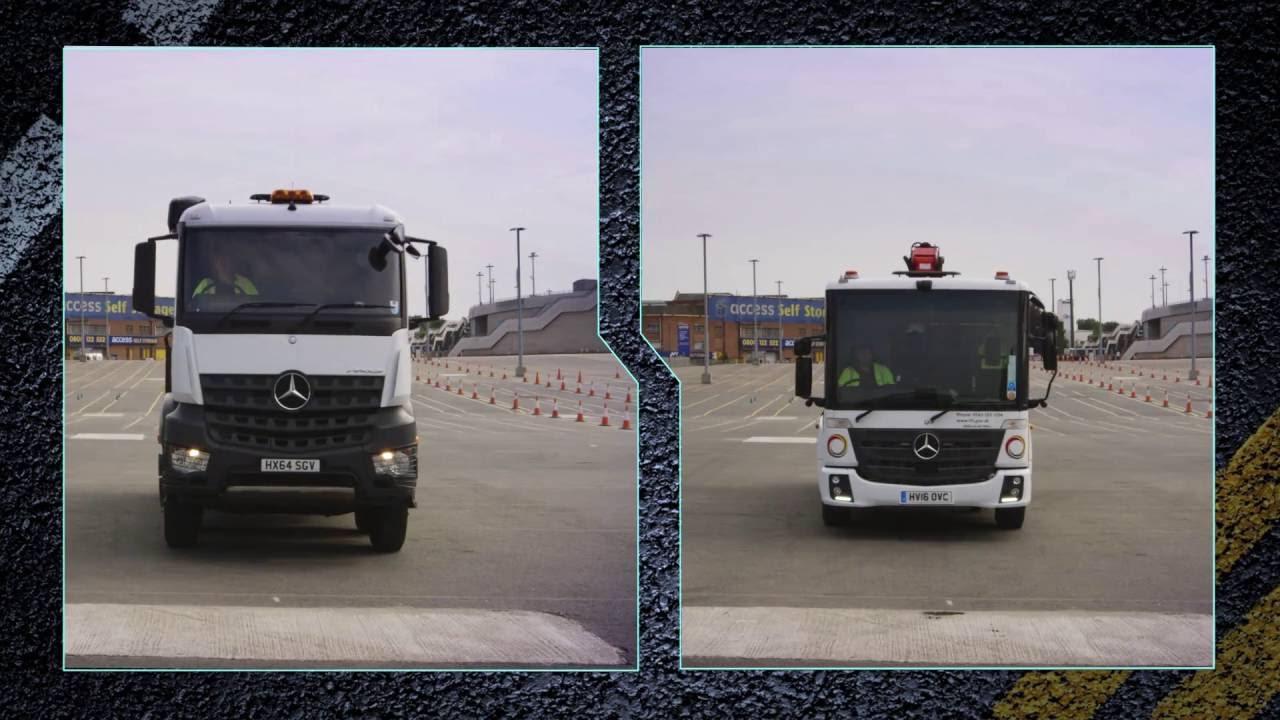Net Direct Trucks >> Safer Trucks Direct Vision Comparison Youtube