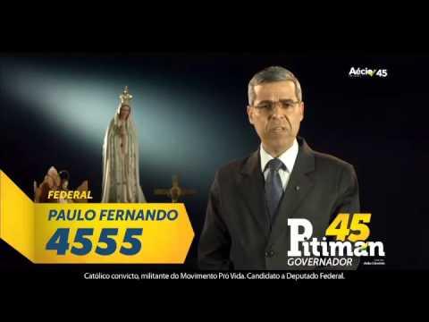 Propaganda Eleitoral do Paulo Fernando Federal - DF 4555