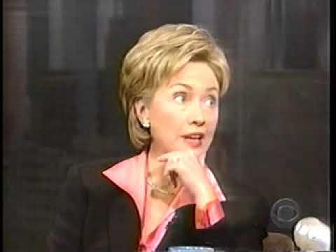 Hillary Clinton @ Letterman
