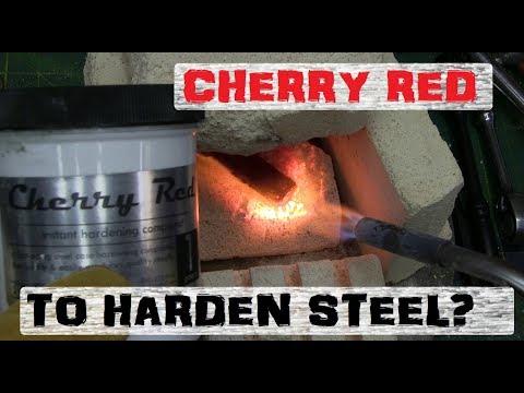 MAGIC DUST STEEL HARDENING   CHERRY RED