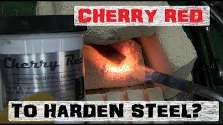 MAGIC DUST STEEL HARDENING | CHERRY RED