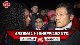 Arsenal 1-1 Sheffield Utd. | Only Saka & Martinelli Created, We Lack Attacking Mids!