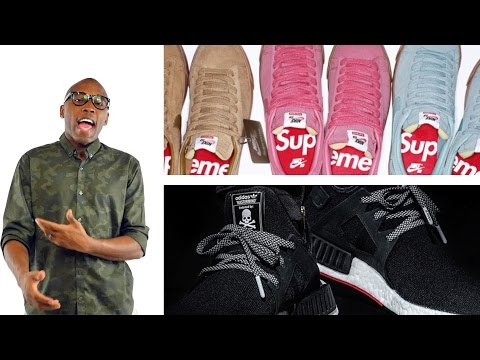 New SUPREME x Nike, CRAZY NMD Collab, Acronym Presto,  more on #TodayinSneaks