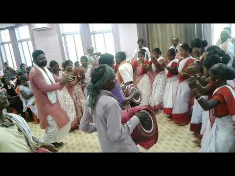 World Indigenous Day  (Vishwa Adivasi Divas) 2017 at- Baripada Stadium Conference Hall re Susung