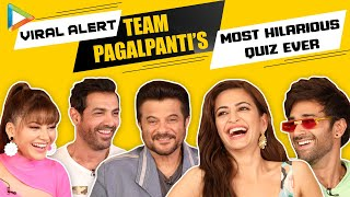 PAGALPANTI UNLIMITED: John, Anil, Kriti, Urvashi & Pulkit's SENSATIONAL & HILARIOUS Battle | Quiz