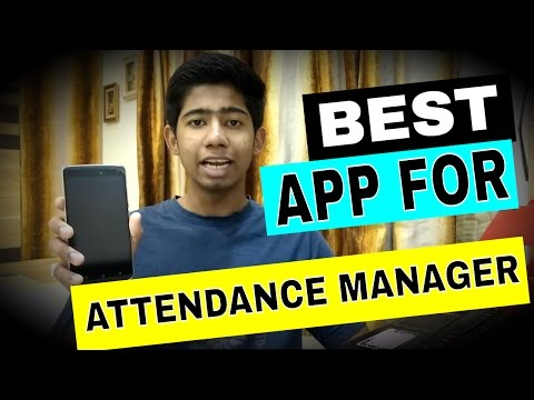 Best Attendance Managing App for College Students !😃