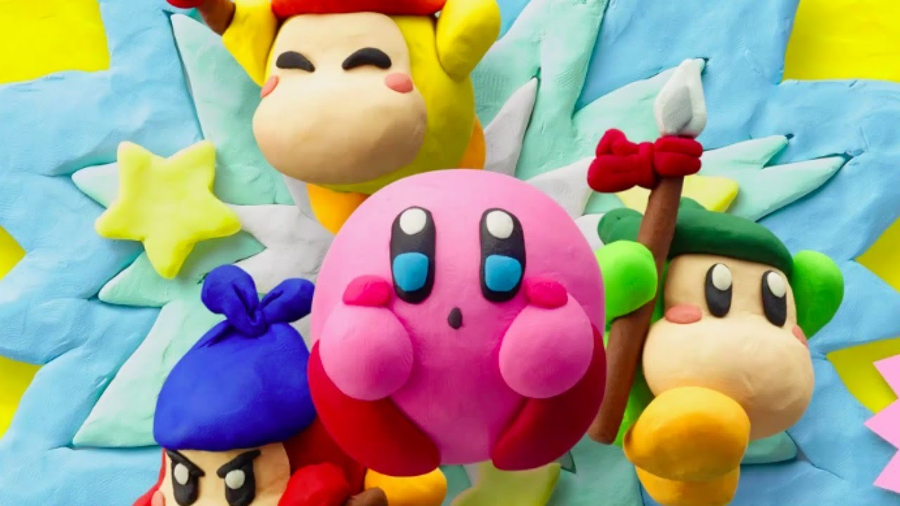 kirby and the rainbow curse japanese overview trailer