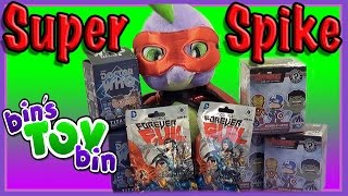 Super Spike Brings Us DC Comics Forever Evil Chibi, Doctor Who, & Avengers! by Bins Toy Bin