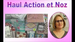 Haul ACTION et NOZ : je l'ai enfin !!!