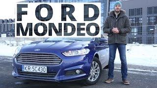 Ford Mondeo MK5 Kombi 2.0 TDCi 150 KM, 2015 [PL/ENG] - test AutoCentrum.pl #166(Więcej Informacji ↓↓ Na piątą generację Forda Mondeo musieliśmy czekać dość długo patrząc w międzyczasie, jak auto bije rekordy sprzedaży za oceanem, ..., 2015-02-11T07:41:08.000Z)