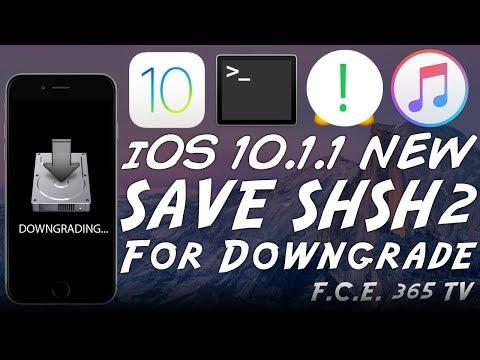 iOS 10.1.1 - How to Save SHSH2 Blobs For Future iOS Downgrades (TSSChecker)