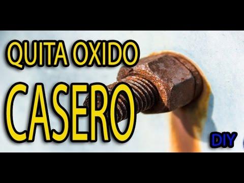 Quita oxido casero youtube - Como quitar el oxido ...