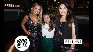 Vlog 17: GRWM: RHONJ Dolores Catania & Formaggio Cheese Fiesta | Melissa Kalloo
