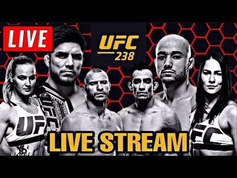 UFC 238 LIVE STREAM - CEJUDO VS MORAES - Full Show Live Reaction