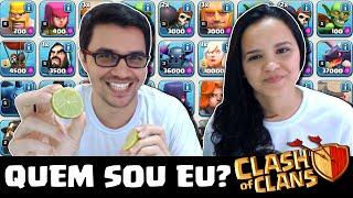 DIDI vs ÉRICA #01 - DESAFIO: QUEM SOU EU NO CLASH OF CLANS? - ESPECIAL 200K