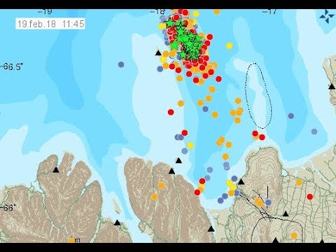 Nafir Volcano Earthquake Swarm - ICELAND - east of Grímsey island in Tjörnes Fracture Zone