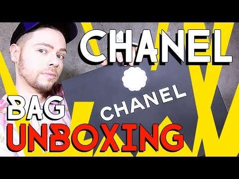 CHANEL BAG UNBOXING - yellow is the new black