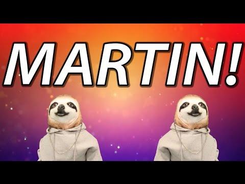 HAPPY BIRTHDAY MARTIN! - SLOTH HAPPY BIRTHDAY RAP