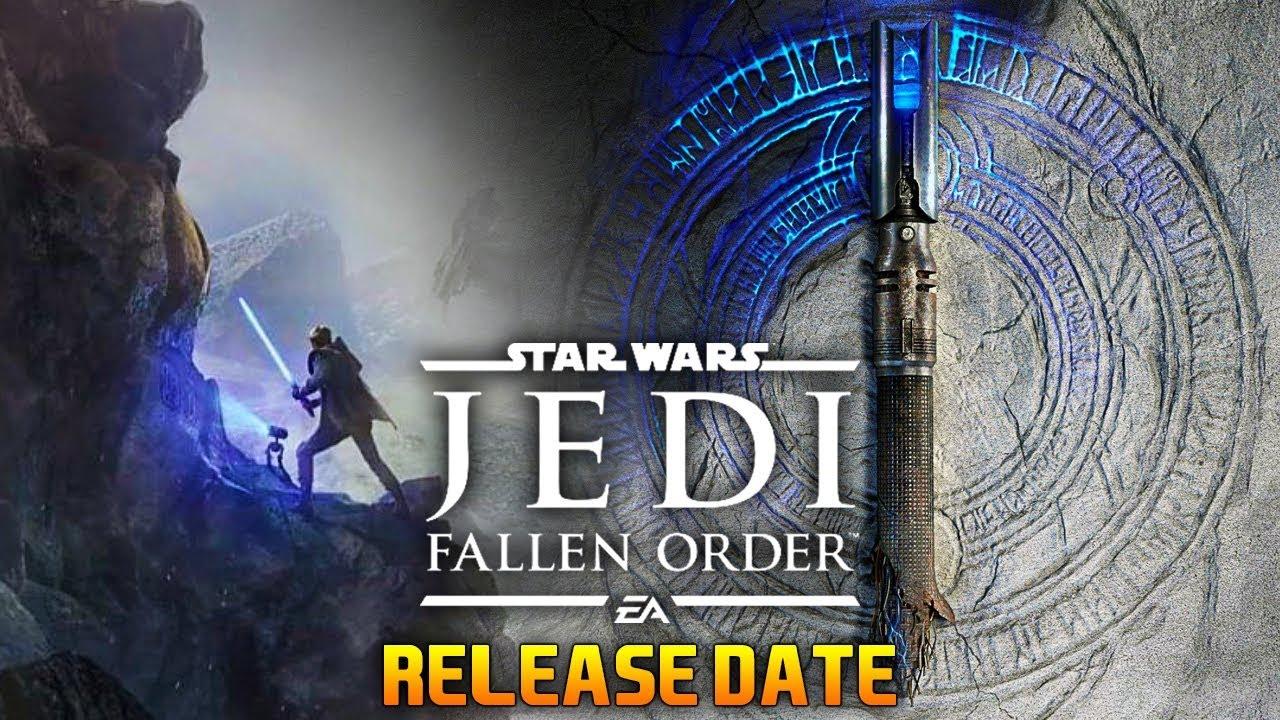 *LEAKED* RELEASE DATE: Star Wars Jedi Fallen Order thumbnail
