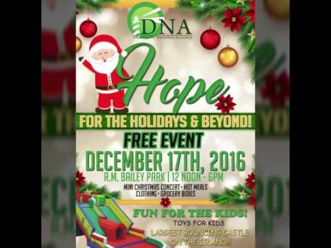 DNA'S Hope for the Holidays 2016 & Beyond