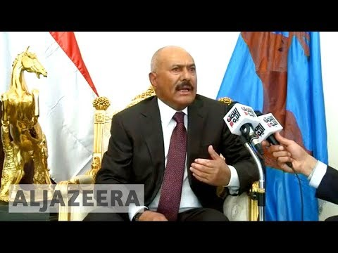 Yemen's Saleh ready for talks with Saudi-led coalition