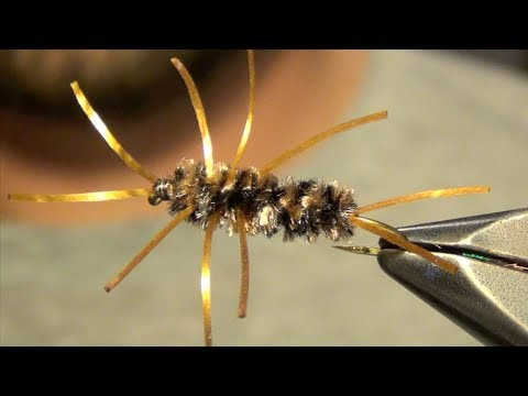 Pat's Rubberlegs Stonefly Nymph Fly Tying Instructions and Tutorial