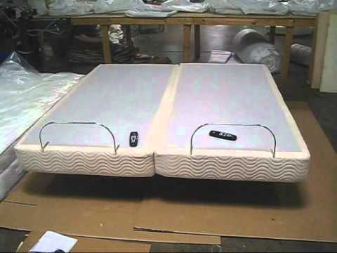 split top mattress and adjustable assembly