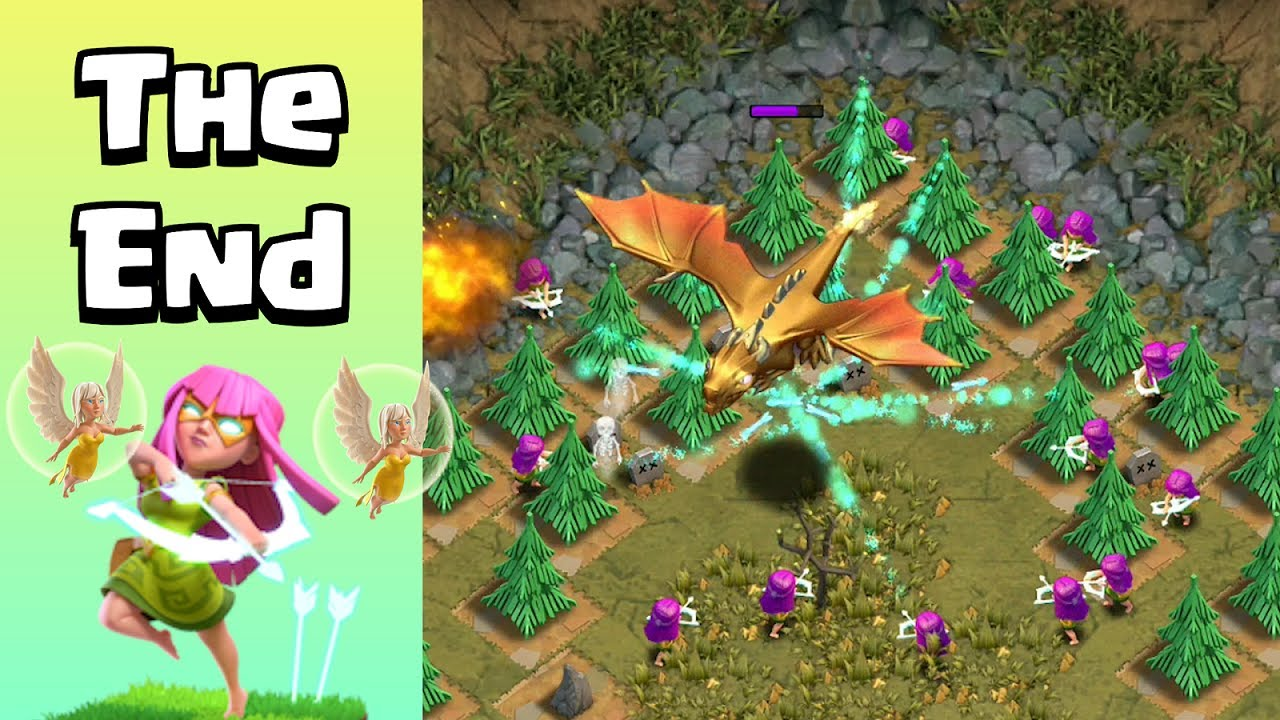 Defeating Giant Dragon | The End of Super Archer Walk | Clash of Clans