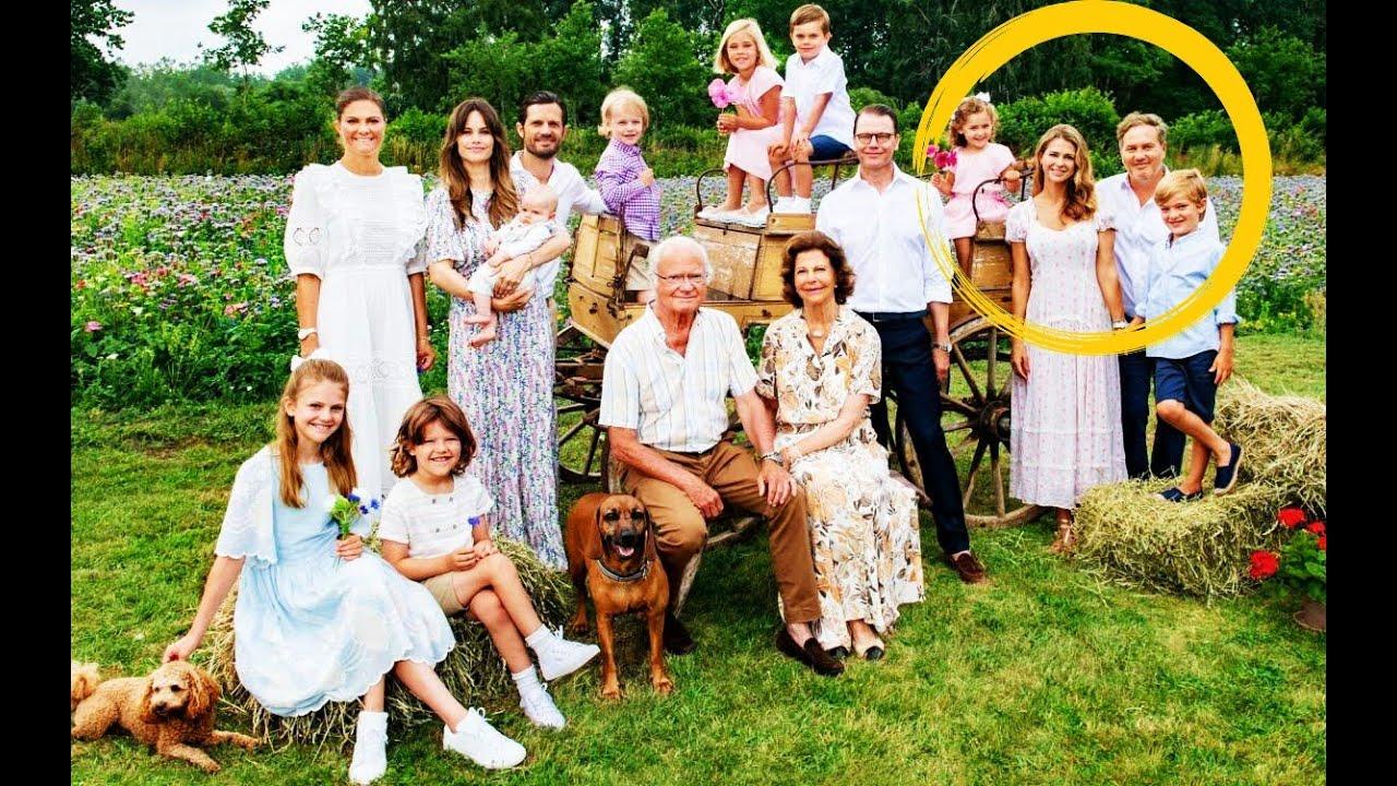 ✅Magdalena de Suecia se reúne con la familia real en el posado estival👑🌼