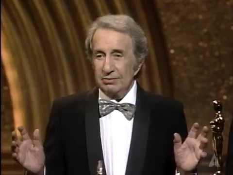 Alex North Receives an Honorary Award: 1986 Oscars