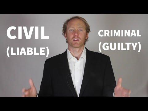 Explained: Civil Law vs Criminal Law