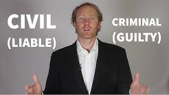 Explained: Civil Law vs Criminal Law