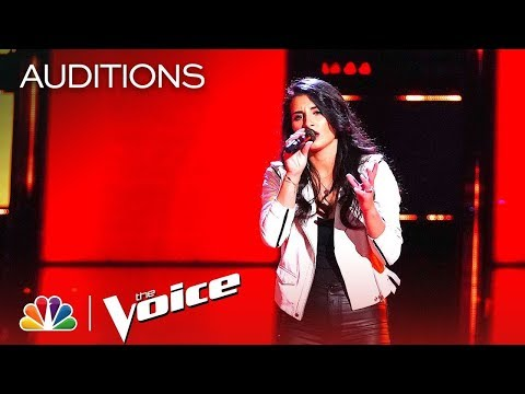 "Alena D'Amico Sing ""In My Blood"" On The Blind Auditions Of The Voice 2019"