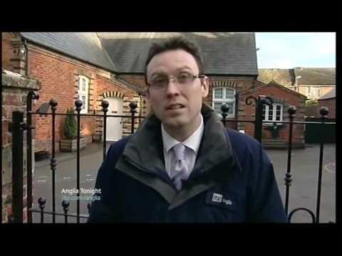 ITV Anglia News Scaffolding Sentence & Boy dies from Swine Flu & HumanTrafficking