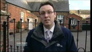 ITV Anglia News Scaffolding Sentence & Boy dies from Swine Flu & HumanTrafficking