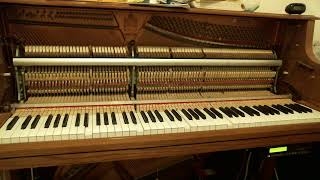 Transcriptions of Tom Brier performances played on my player piano
