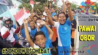 Download Video WARGA BONDOWOSO ANTUSIAS TERHADAP ASIAN GAMES 2018 | PAWAI OBOR ASIAN GAMES 2018 MP3 3GP MP4