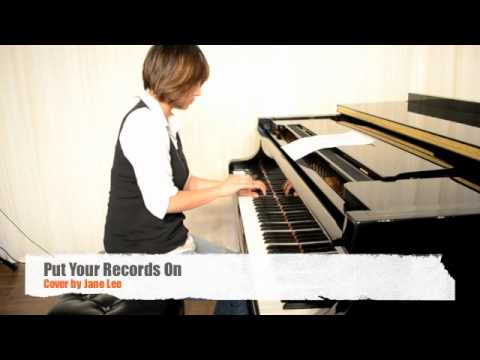 PUT YOUR RECORDS ON - Corinne Bailey Rae (Piano Cover) - YouTube
