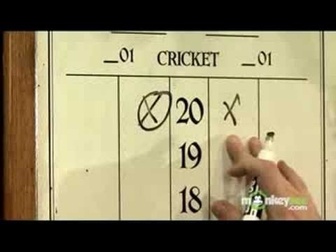 How To Play Darts The Game Of Cricket Youtube