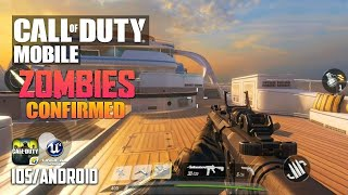 CALL OF DUTY MOBILE ZOMBIES - iOS / Android - BETA GAMEPLAY