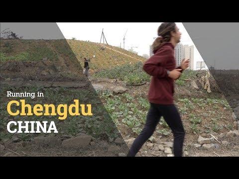 RUNNING IN CHENGDU, CHINA