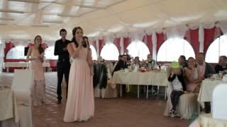 Песня-поздравление на свадьбе