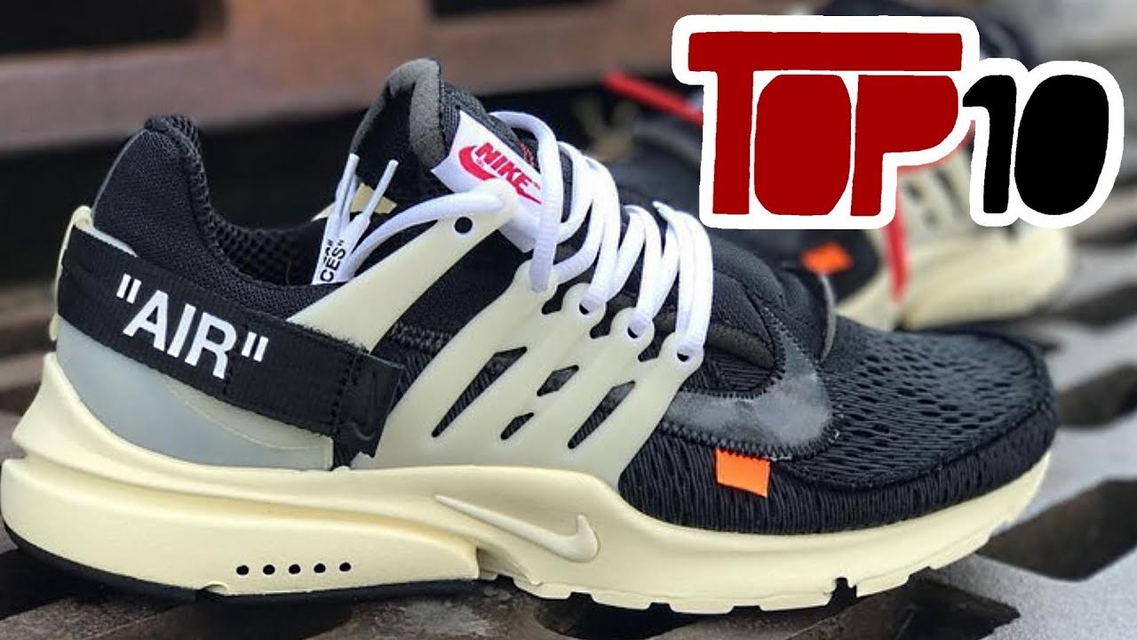 0ae477b94b95a Top 10 Best Looking Off White Shoes - YouTube