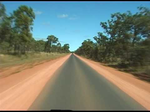 Australian Outback Road Movie