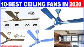 Best ceiling fan in India 202o_Top 10 Ceiling Fans With Price | Expert Review