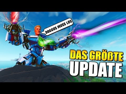 ENDLICH 😱 Das GROßE Fortnite Update, NEUE Skins, Emote, Leaks, Roboter Live Event   Deutsch