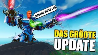 ENDLICH 😱 The GREAT Fortnite Update, NEW Skins, Emote, Leaks, Robot Live Event | German